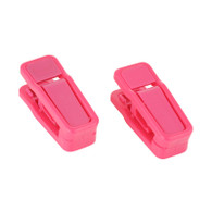 Ruby Red Colour Finger Clips Sold in Bundles 20/50/100 pcs