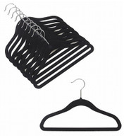 Black Kids Velvet Suit Hangers (Sold in Bundles of 20/50/100)