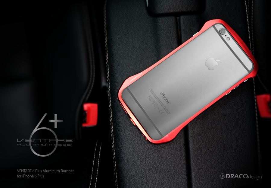 separation shoes e9e1e 12821 DRACOdesign New Aluminum Bumper for iPhone 6 Plus -VENTARE 6 Plus