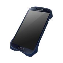DRACO AIRBORNE Aluminum Bumper - for Samsung Galaxy S4 (Midnight Blue)