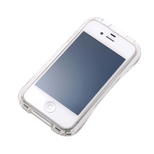 DRACO CRYSTAL Bumper - for iPhone 4/4S (Clear)