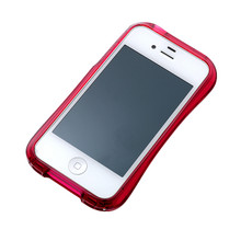DRACO CRYSTAL Bumper - for iPhone 4/4S (Ruby)
