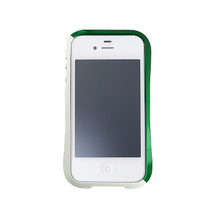 DRACO EVO Handcraft Aluminum Bumper - for iPhone 4/4S (Sonic Green)