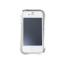 DRACO EVO Handcraft Aluminum Bumper - for iPhone 4/4S (Sonic Silver)