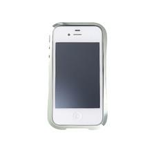 DRACO EVO Handcraft Aluminum Bumper - for iPhone 4/4S (Sonic Silver)