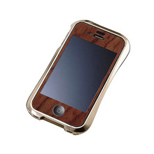 DRACO Handcraft Wood Plate - for iPhone 4/4S (Bubinga)