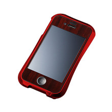 DRACO Handcraft Wooden Plate - for iPhone 4/4S (Padauk)