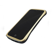DRACO ELEGANCE Aluminum Bumper - for iPhone SE/5S/5 (Gold/Black)