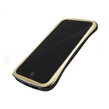 DRACO ELEGANCE Aluminum Bumper - for iPhone SE/5S/5 (Gold/Black)