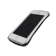 DRACO ELEGANCE Aluminum Bumper - for iPhone SE/5S/5 (Silver/Black)