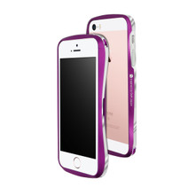 DRACO 5 Aluminum Bumper - for iPhone SE/5S/5 (Galactic Purple)