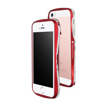 DRACO 5 Aluminum Bumper - for iPhone SE/5S/5 (Flare Red)