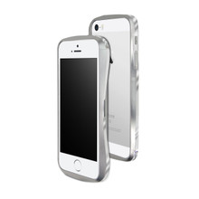 DRACO 5 Aluminum Bumper - for iPhone SE/5S/5 (Astro Silver)