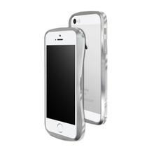 DRACO 5 Aluminum Bumper - for iPhone SE/5S/5 (Astro Silver)