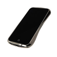 DRACO 5 Limited Aluminum Bumper - for iPhone SE/5S/5 (Luxury Silver)