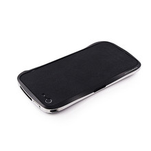 DRACO VOGUE Leather Skin Guard - for iPhone 5 (Black)