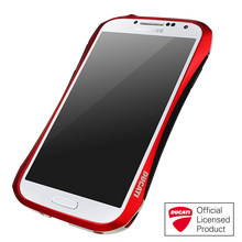 DRACO HYDRA Aluminum Bumper - for Samsung Galaxy S4 (Flare Red)