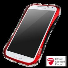 DRACO HYDRA Aluminum Bumper - for Samsung Galaxy S4 (Flare Red)