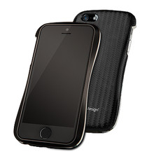 DRACO ALLURE A Aluminum Bumper Case - for iPhone 5/5S (Black/Black)
