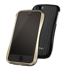 DRACO ALLURE A Aluminum Bumper Case  - for iPhone 5/5S (Gold/Black)