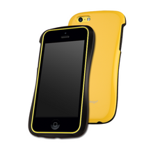 DRACO ALLURE  CP Ultra Slim Bumper Case - for iPhone 5C (Yellow)