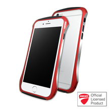 DRACO DUCATI 6 ALUMINUM BUMPER- FOR IPHONE 6/6S (FLARE RED)