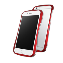 DRACO 6 ALUMINUM BUMPER - FOR IPHONE 6/6S (FLARE RED)