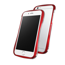 DRACO 6 Plus ALUMINUM BUMPER - FOR IPHONE 6 Plus/ 6S Plus (Flard Red)
