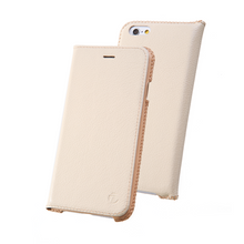 DRACO LEATHER FLIP CASE for iPhone 6/6S (WHITE)