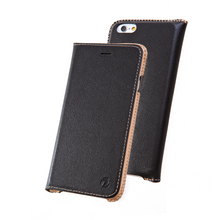 DRACO LEATHER FLIP CASE for iPhone 6/6S (BLACK)