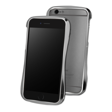 DRACO 6X HAND POLISHED ALUMINUM BUMPER - FOR IPHONE 6/6S (Luxury Gray)