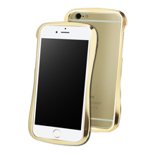 DRACO 6X HAND POLISHED ALUMINUM BUMPER - FOR IPHONE 6/6S (Luxury Gold)
