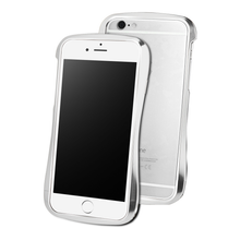 DRACO 6X HAND POLISHED ALUMINUM BUMPER - FOR IPHONE 6/6S (Luxury Silver)