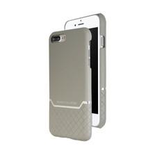 VENANO B Top Grain Back Cover Leather Case for iPhone 7 Plus/8 Plus-Elephant Grey
