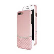 VENANO B Top Grain Back Cover Leather Case for iPhone 7 Plus /8 Plus-Sakura Pink