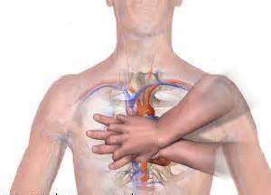 CPR hand placement