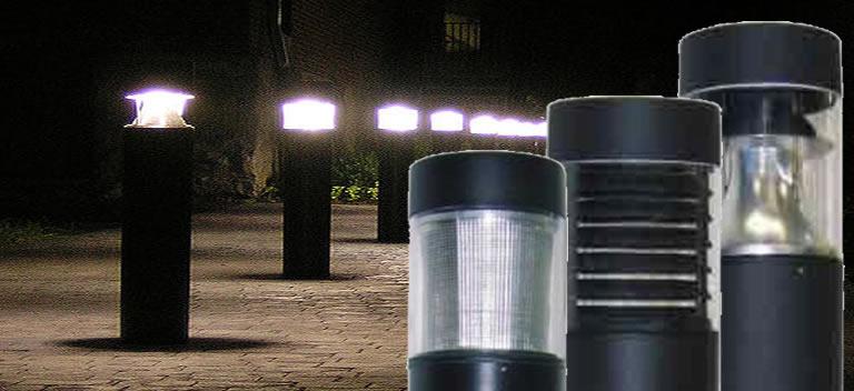LED bollard lights