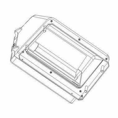 Lexan Guard for W30 and W40 Cut-off Wall Pack
