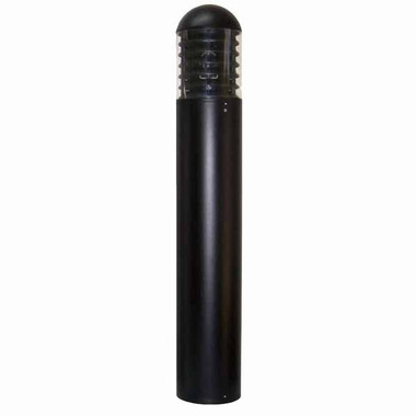 35W HPS Round Bollard Dome Top and Aluminum Louvers 120V