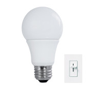 LED A-Type Dimmable True Shape A19 (60 Watt) Bulbrite