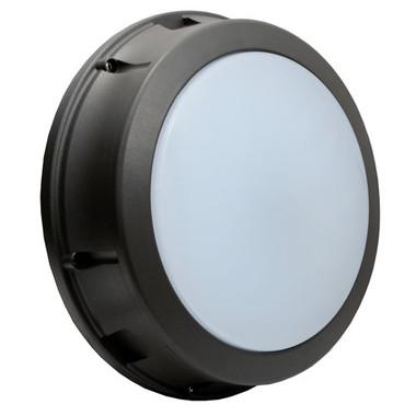 "12"" LED 17W Bulkhead Open Frame Round Wall Light"
