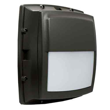 "12"" LED 17W Bulkhead Cutoff Square Wall Light"