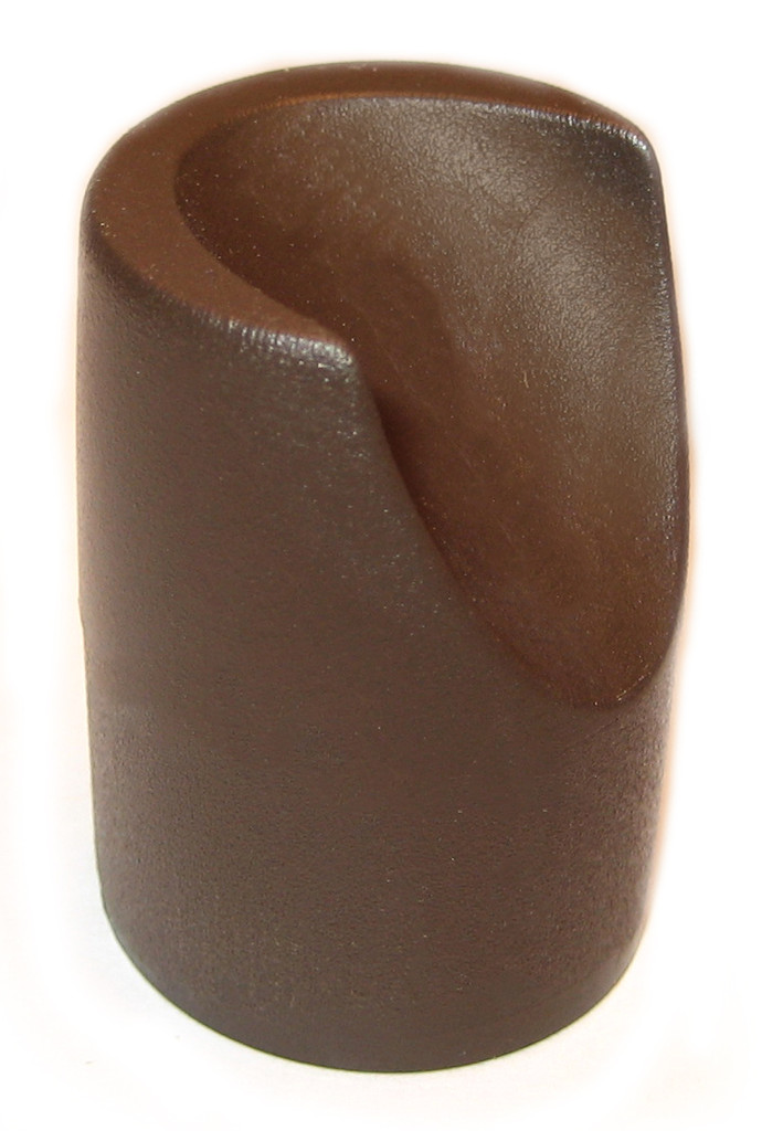 "Brown Stability Cap for 7/8"" Folding Chairs"