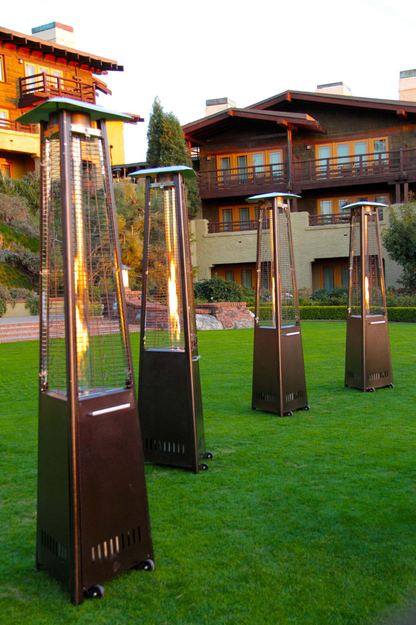 ... Rhino Series 41,000 BTU Bronze Flame Patio Heater (PR 4020) ...