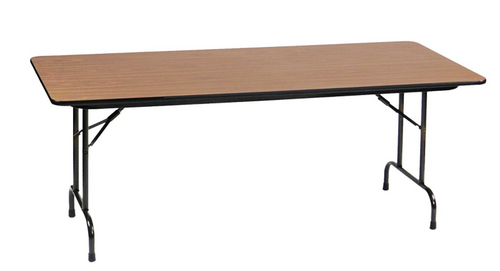 "Correll 3/4"" Thick High Pressure Laminate Folding Table - USA - 10+ Sizes - 5 Colors"