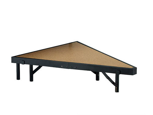 Multi-Height Portable Stage Pies With Hardboard Surface By National Public Seating - 8 Sizes - 10Warranty
