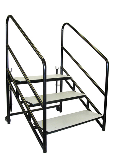 Steps For Portable Performance Stages By National Public Seating - 3 Sizes - 10Warranty