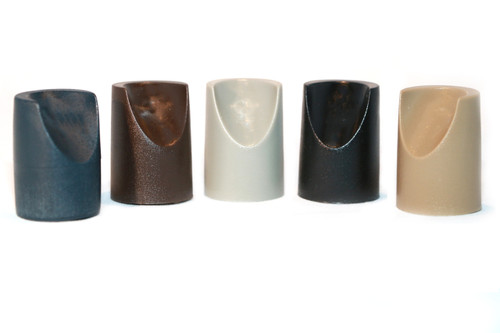 "Individual Pieces - Plastic Stability Caps for Metal and Padded Folding Chairs, Fits 7/8"" OD Tube - 6 Colors"