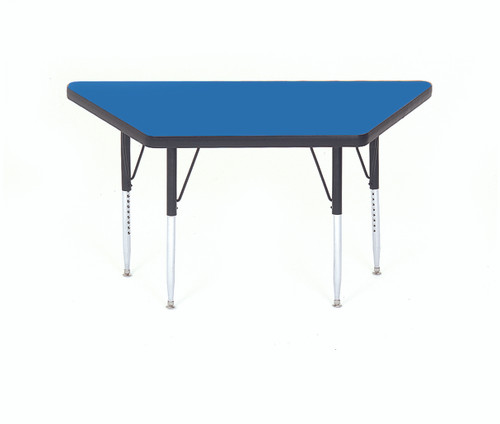 Correll Trapezoid Daycare Activity Table - 8 Colors - 2 Sizes - USA