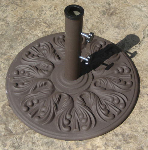 Galtech 40 lb. European Premium Cast Iron Umbrella Stand, Model 040 - Free Shipping
